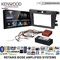 Volunteer Audio Kenwood DDX9904S Double Din Radio Install Kit with Apple CarPlay Android Auto Bluetooth Fits 2007-2009 Mazda CX-7 (With Bose)