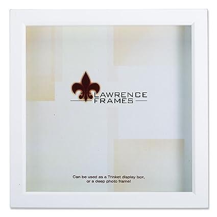 Amazon.com - Lawrence Frames 795210 White Wood Treasure Box Shadow ...