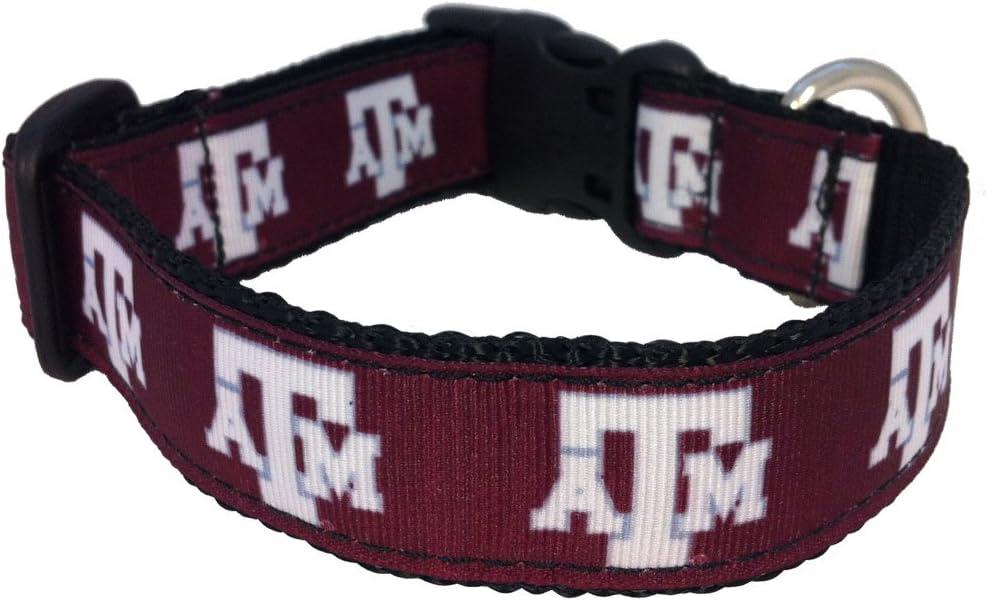 NCAA Texas A/&M Aggies Dog Collar Team Color, Small