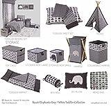 Bacati Elephants Unisex Fabric Memory/Memo Photo