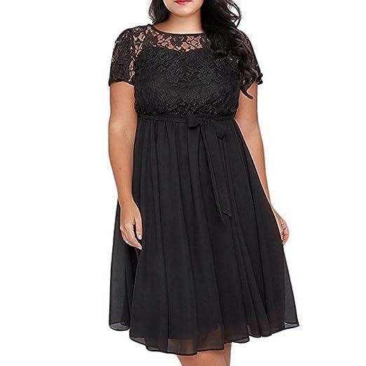 c241567a95452 Hunzed Women Dress, Scooped Neckline Dress } Casual { Floral Plus Size  Dresses } {