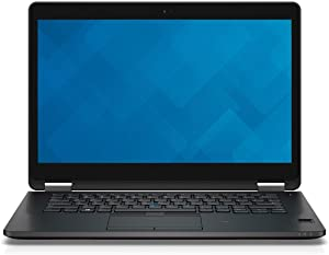 Dell Latitude 14 7000 Series E7470 Ultrabook   Intel Core 6th Generation i7-6600U   16 GB DDR4   256 GB SSD   14 inch FHD (1920 x 1080)   Windows 10 Pro (Renewed)