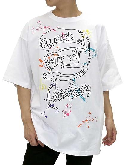 aea9de09ed Amazon.com: b-one-soul Men's Printed Duck Dude T-Shirt Hip Hop Dance ...