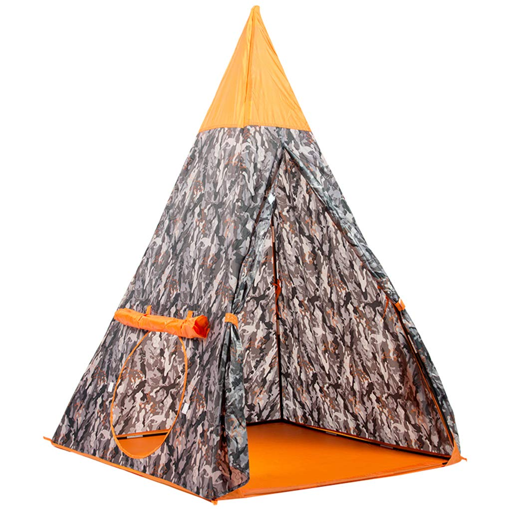 Anyer Children's Tent Game House Indoor Outdoor Toy Room Doll House 2-6 Years Old Baby Tent Castle