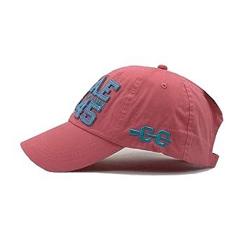 Amazon.com: SINXE] 2019 Summer Cotton Baseball Cap Leisure Gorras militares Hombre Snapbacks Men Bone Masculino dad hat,C: Clothing