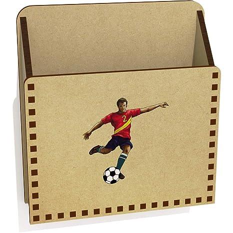 Jugador de Fútbol De Madera Carta Poseedor / Caja ...