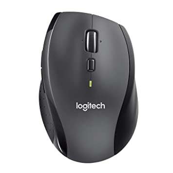 fc1080ae1de Logitech Marathon M705 Wireless Laptop Computer Mouse, Black: Amazon ...