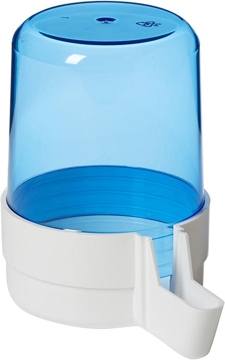 Pet Ting 280CC Bebedero/comedero Anti Algas Azul–Bebedor (Pack de 1)