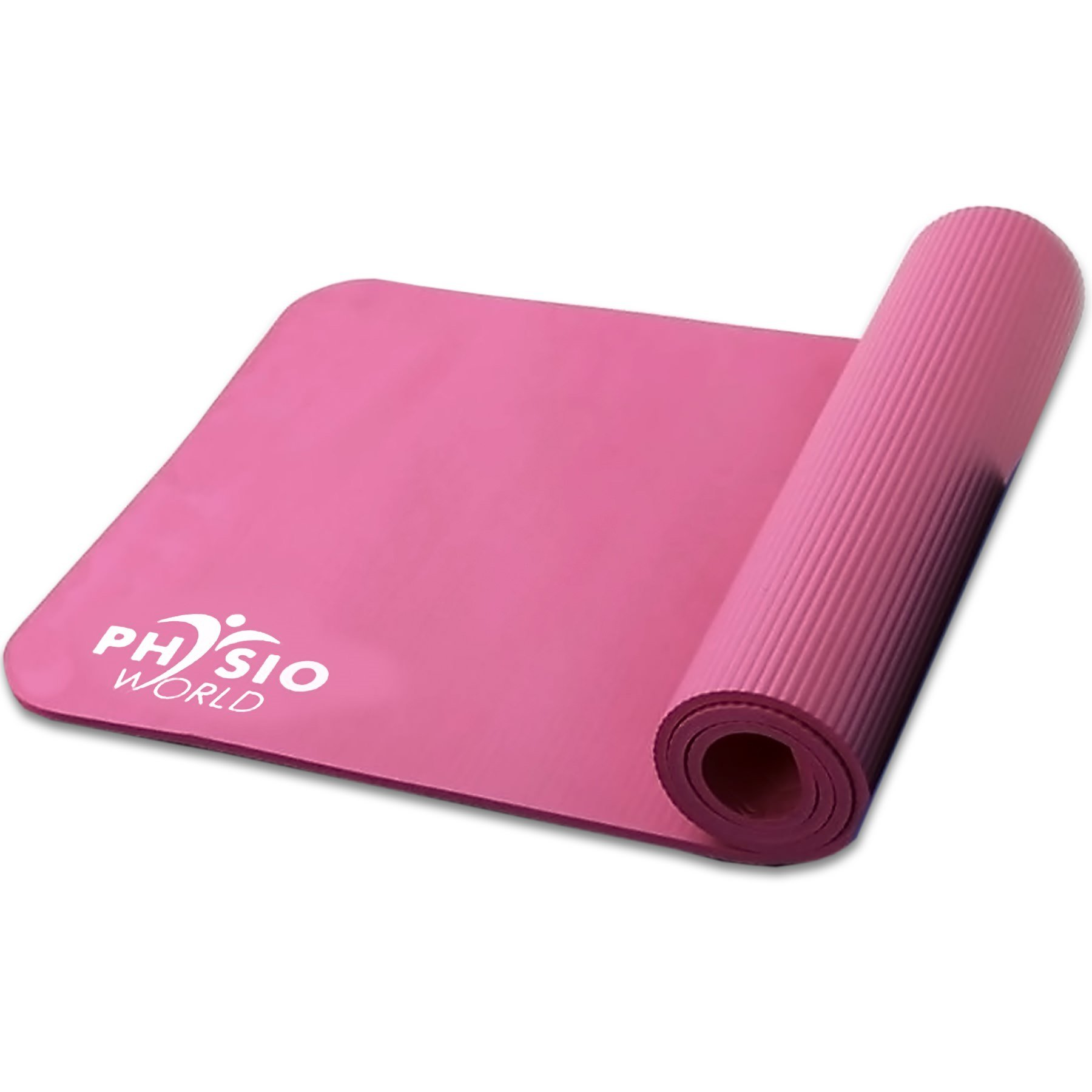 Physio World Thick Exercise Mat - 15mm Pink