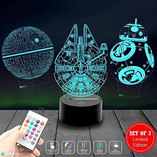 Gift Millennium (Millennium Falcon Star Wars Lighting Gadget Lamp Decor Awesome Gift)