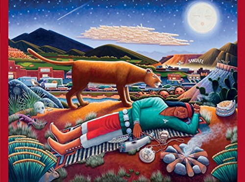Pomegranate To Sleep, Perchance To Dream 500 Piece Native American Folk Art Jigsaw Puzzle