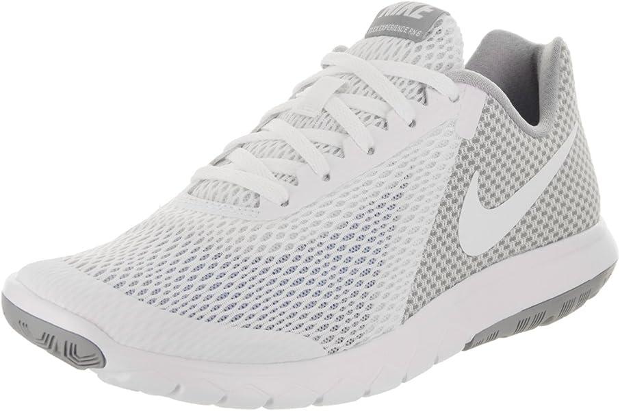 be7aa9c69c0f7 Nike Women s Flex Experience Rn 6 White White Wolf Grey Running Shoe 10  Women US