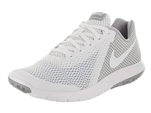 2c8cbdacda4ac Nike Women s Flex Experience Rn 6 White White Wolf Grey Running Shoe 8 Women  US  Amazon.in  Shoes   Handbags