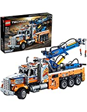 LEGO Technic Heavy-Duty Tow Truck 42128 Building Kit; Explore a Classic Truck Packed with Authentic Features; New 2021 (2,017 Pieces)