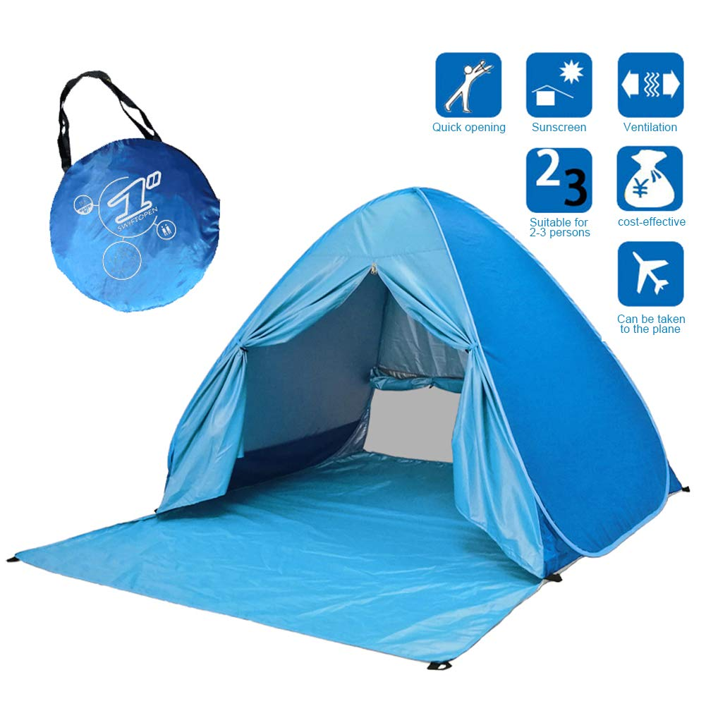 seven star Beach Tent UV Protection pop-up Tent,Portable Sun shelter,Automatic Sun Tent