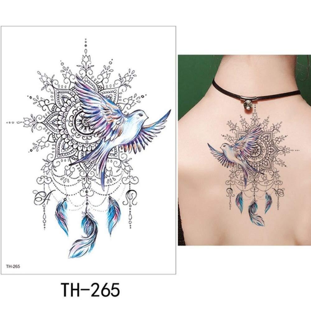 Enlace de 5 Piezas Bird Flash Tatto Impermeable Pequeño Body Art ...