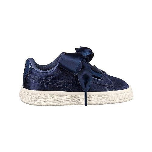 Puma Basket Heart Jr Blu 365141 03