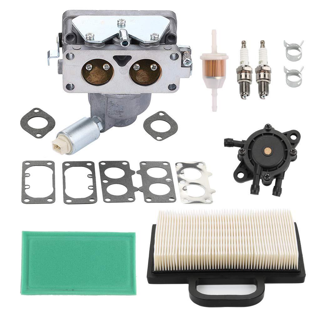 HONEYRAIN 791230 799230 699709 499804 Carburetor with Air Filter for Briggs & Stratton V-Twin 4 Cycle 20HP 21HP 23HP 24HP 25HP Engine John Deere MIA10632 LA135 LA120 LA130 LA140 LA145 LA150 Lawn Mower by HONEYRAIN