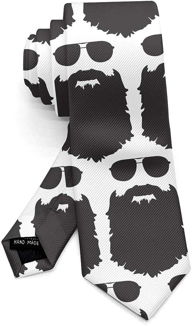 Soft Polyester Necktie, Men Boys Skinny Daily Wedding Decor Regular Necktie