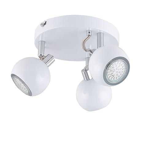 Lightcraft Mogren 3 Lámpara de foco LED (Bajo consumo 3x3W ...