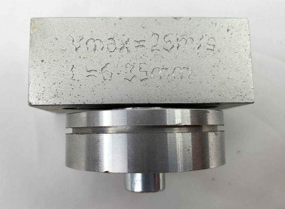 Umbaukit f enge Kurvenschnitte Kurvenradien Ersatzteil//Baugruppe f hochwertig Universalf/ührung mittel 5 x 5 x 5 cm Bands/ägemaschinen universell anbaubar durch 2 Montagem/öglichkeiten ideal f