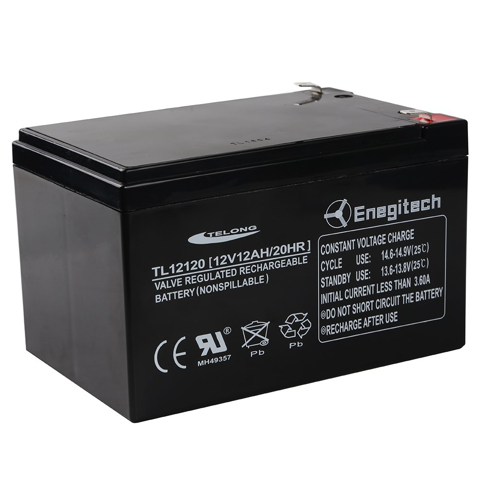 powermall 12v 12ah 20 hr sla battery rechargeable sealed. Black Bedroom Furniture Sets. Home Design Ideas