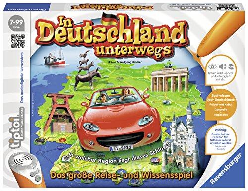Ravensburger 00521 - tiptoi Spiel In Deutschland unterwegs
