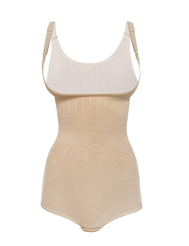 Shaper Maker Women's Shapewear Bodysuit Tummy Control Slimming Body Shaper