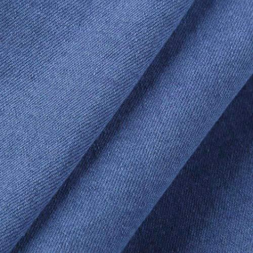 Fit Chino Fashion Uomo Jeans Da Jeasns Skinny Slim Hellblau Pantaloni xcWBUXnX