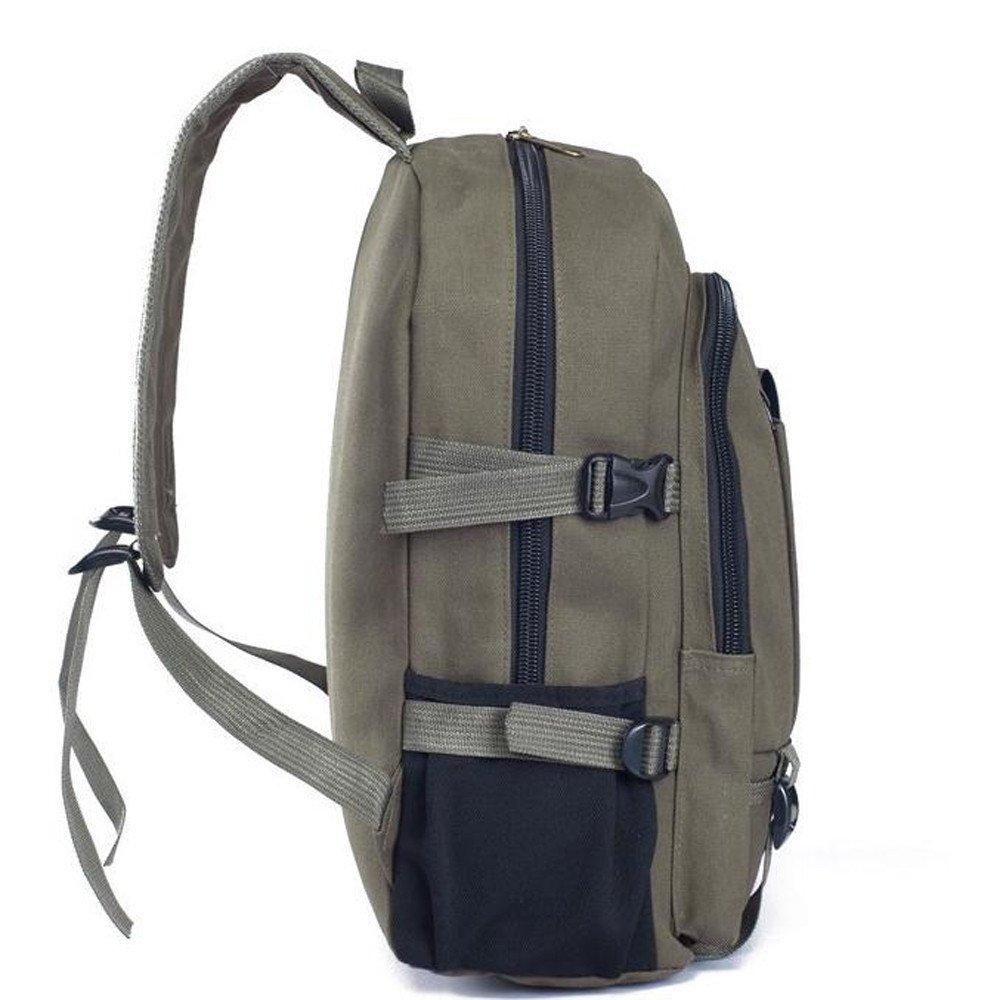 Women Fashion Canvas Backpack Simple Double-Shoulder Schoolbag Backpack