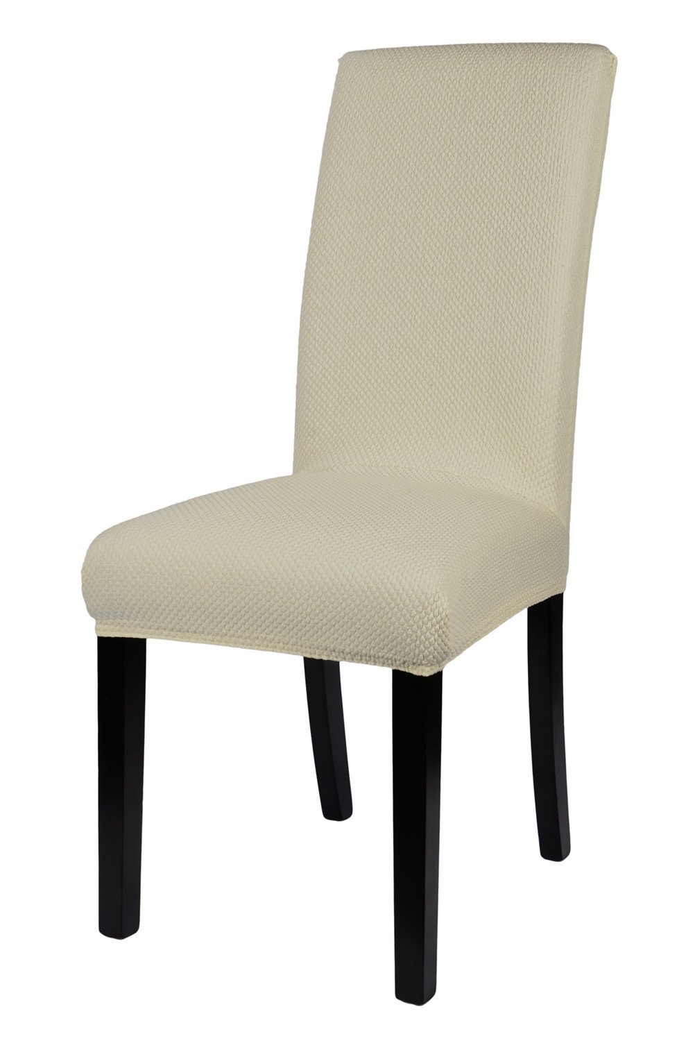Homluxe Universal Spandex Stretch Dining Room Chair Slipcovers (2, White)