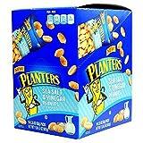 Product Of Planters, Peanut Sea Salt & Vinegar, Count 10 (2.25 oz) - Nut & Dry Fruit / Grab Varieties & Flavors