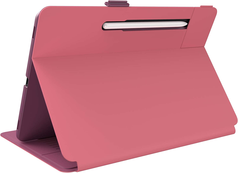 Speck Products Balance Folio Samsung Galaxy Tab S7+ Case, Royal Pink/Lush Burgundy