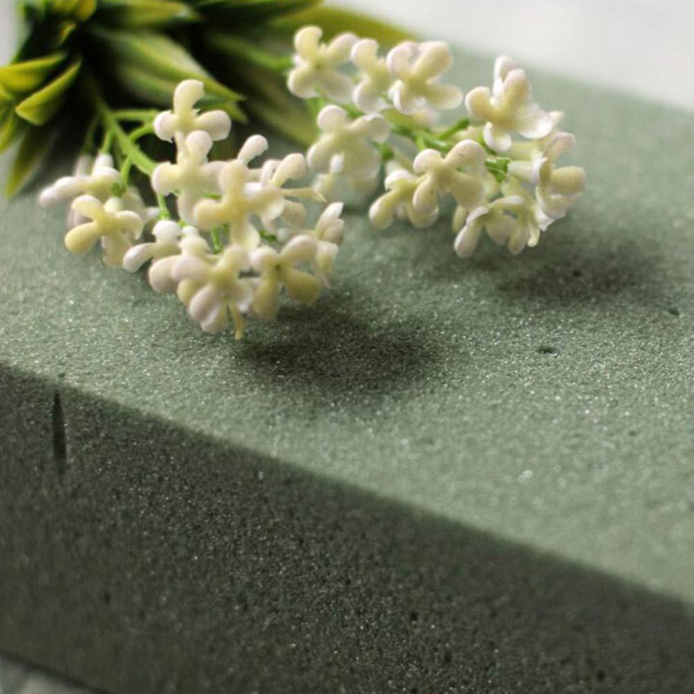 Vosarea 3pi/èces Floral Bloc de Mousse Briques de Mousse Humide Blocs de Polystyr/ène pour Pr/ésentations D/écorations Arrangements Florales