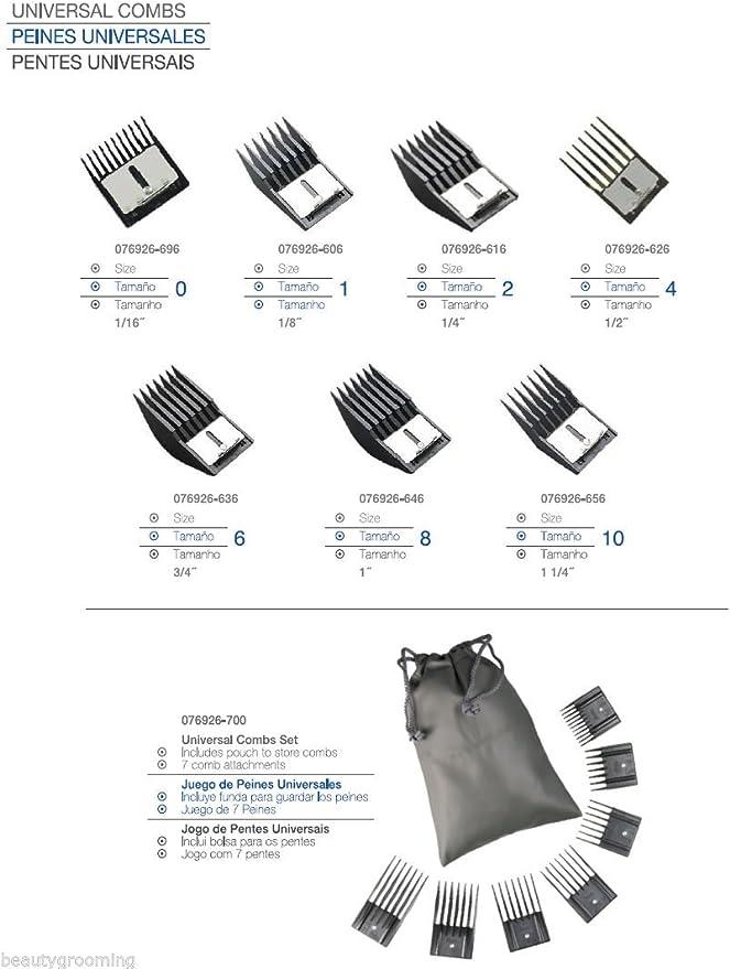 Sunbeam Conjunto de oro profesional A5 + Trimmer + Peines Set + ...