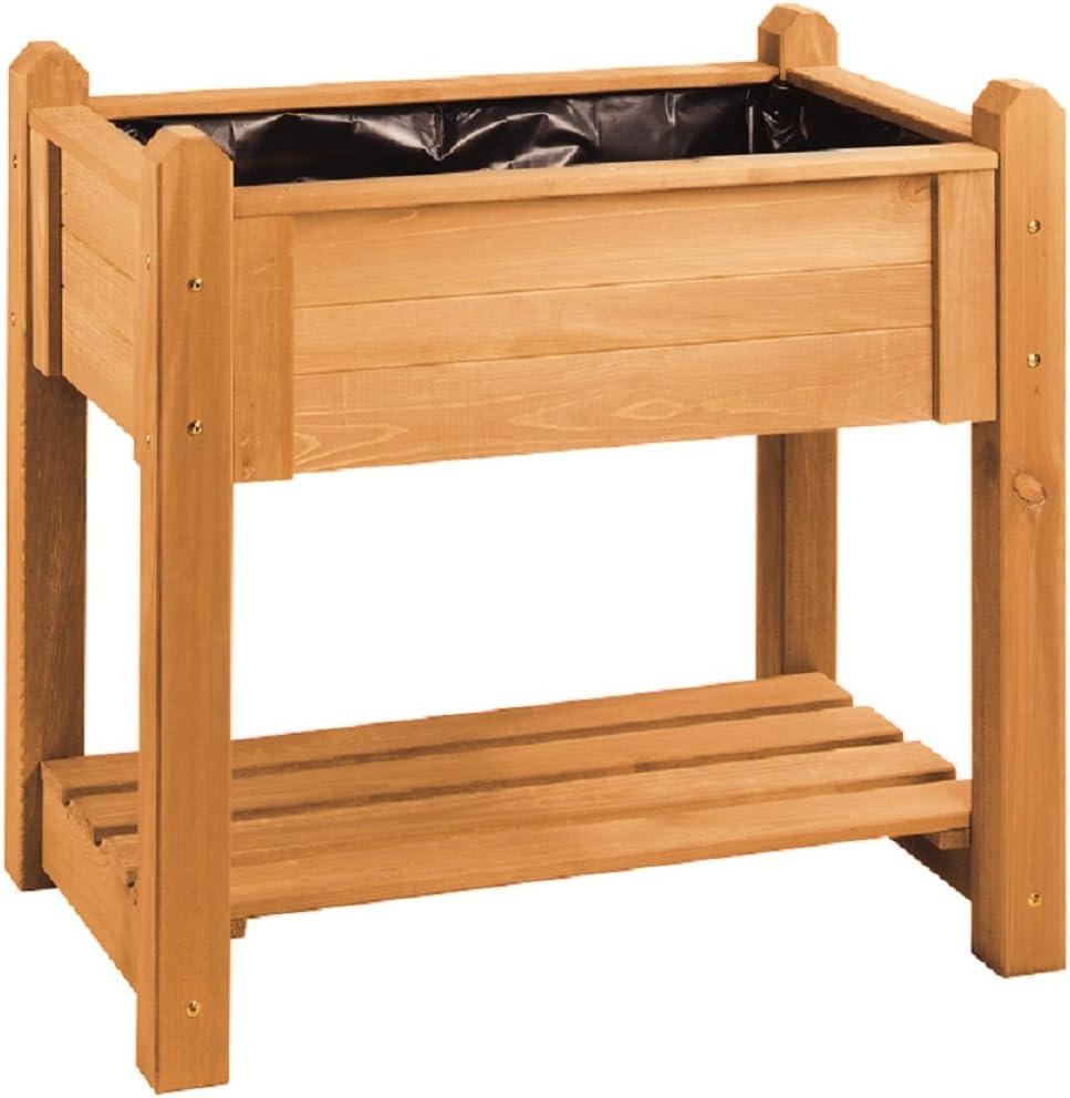 Bancal, madera de pino con ruedas, seguridad alta, 90 x 60 cm, con ...