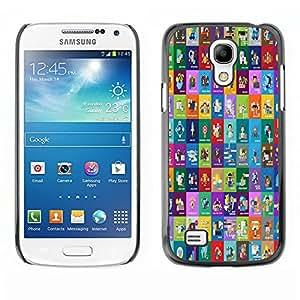 Dragon Case - FOR Samsung Galaxy S4 Mini i9190 - to believe in yourself - Caja protectora de pl??stico duro de la cubierta Dise?¡Ào Slim Fit