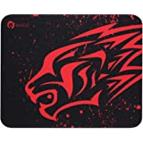 Gaming Mouse Pad Thick Non-Slip Rubber Base Comfortable Mouse Pad Smooth Surface Keyboard Mouse Pads for Computers Black…