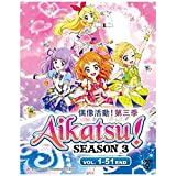 Aikatsu! Season 3 (TV 1 - 51 End) 3 Discs (DVD, Region All) Japanese Anime / English Subtitles