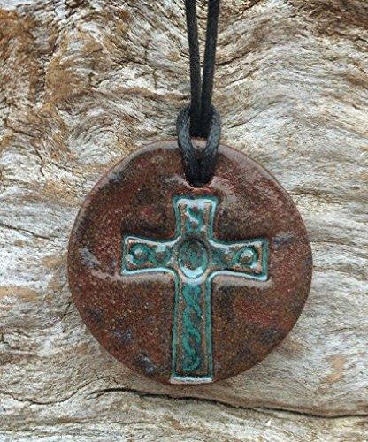 Terracotta Essential Oil Pendant Necklace product image
