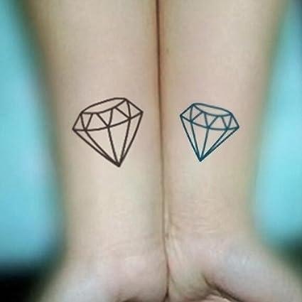 Hombres Mujeres Forma de diamante Extraíble Transferencia de agua ...