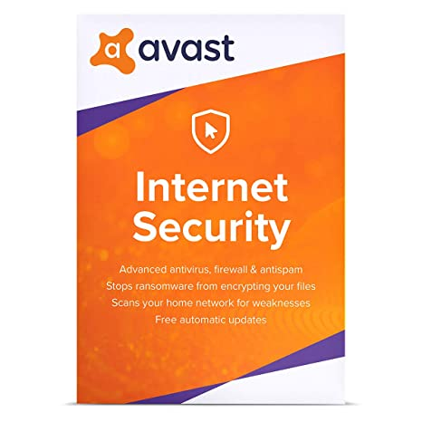 Avast Internet Security 2019 | Antivirus protection software | 1 Year, 1 PC  [Download]