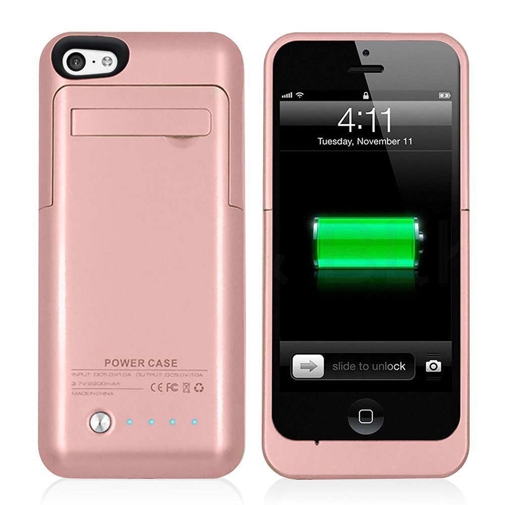 charging case for iphone 5c iphone 5 5c se 5s caricabatterie casi muze 2200mah 2216