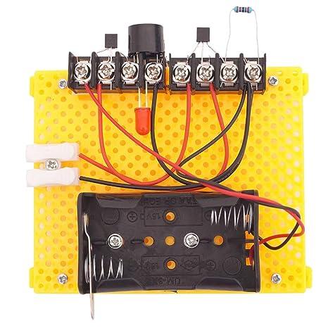 Homyl Juguete Educativo de Ciencia DIY Asamblea Kit - Alarma ...