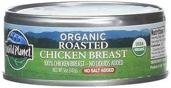 Wild Planet Organic Roasted Chicken Breast, 5 oz.