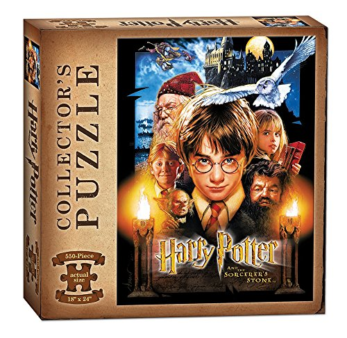 USAopoly Harry Potter and the Sorcerer's Stone Puzzle (550 - World Puzzle Jigsaw Outlets