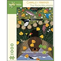 Charley Harper - The Rocky Mountains: 1,000 Piece Puzzle