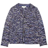 Product review for Mini Phoebee Boys' Long Sleeve V-Neck Marled Cardigan Sweater with Slant Pockets