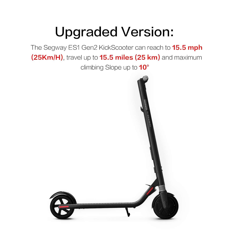 Amazon.com: SEGWAY Ninebot ES1 Gen2 - Patinete eléctrico ...