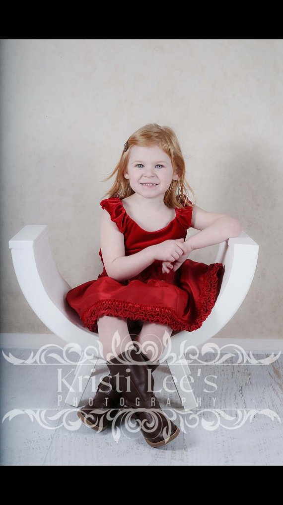 NEW Curved Photography Bench, Wooden Photo Prop, CURVED Bench Photography Prop